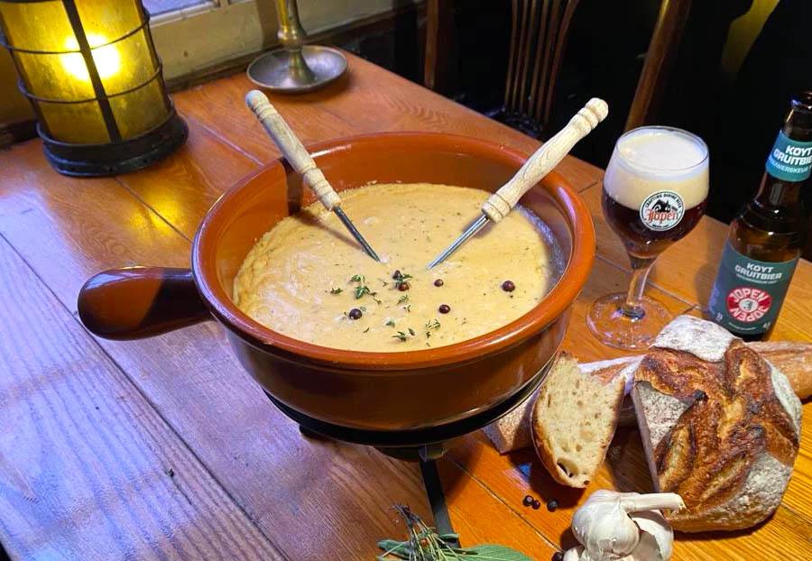 Kaasfondue Jopen bier bestellen