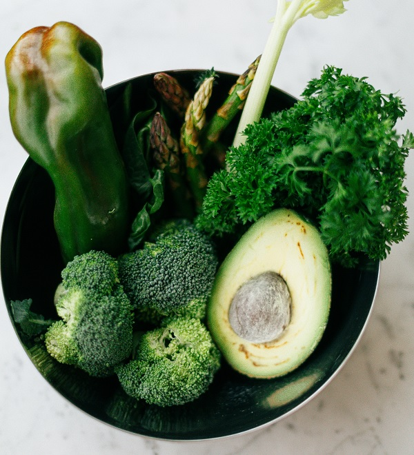 groenten bij de kaasfondue